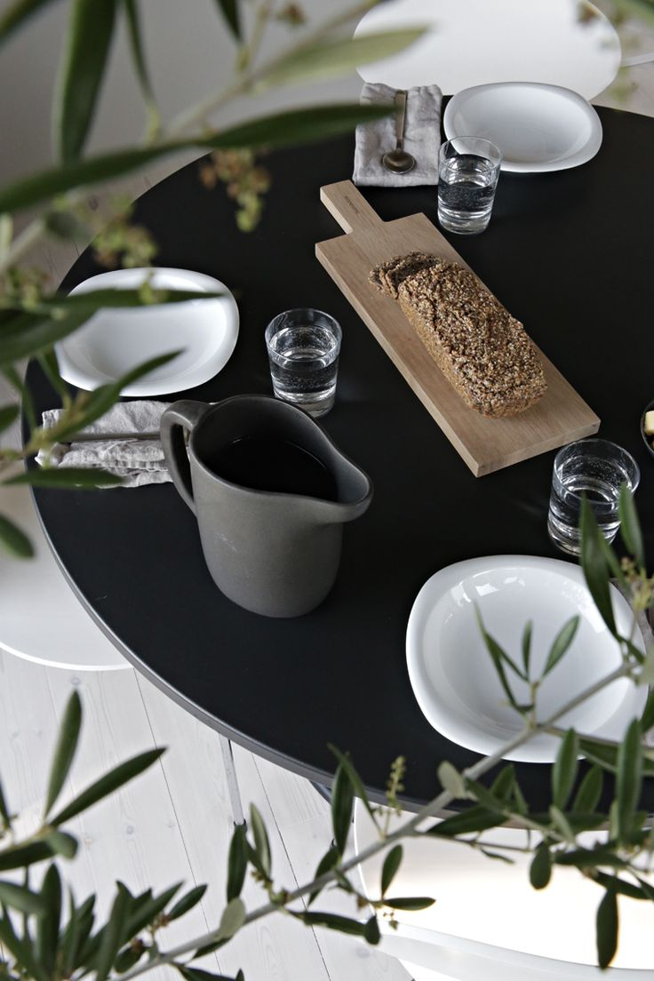 Simple Lunch Table Setting