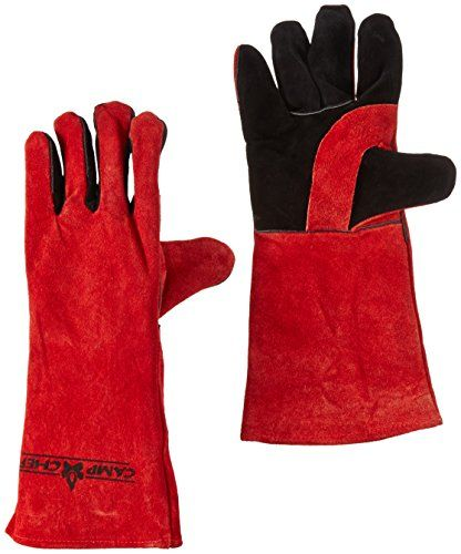 Camp Chef Heat Resistant Gloves. These gloves are great for protecting hands around hot surfaces including campfires, stoves, hot cookware. http://amzn.to/2mfmhNt