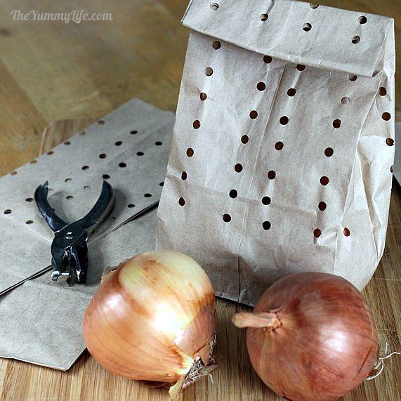how to make onions last longer