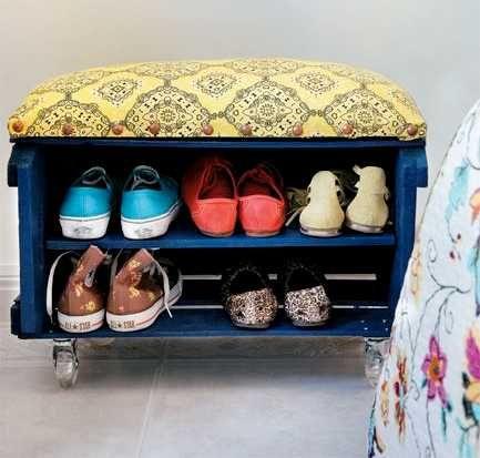 más de 25 ideas increíbles sobre armario hecho con palés en ... - Imagenes De Armarios Hecho Con Cajas Recicladas