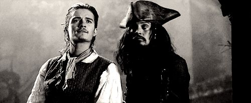 Fangirl of the Forest — Will Turner + Captain Jack Sparrow - Pirates of...