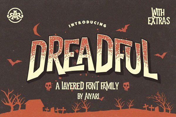 Dreadful +Extras by Aiyari on @creativemarket