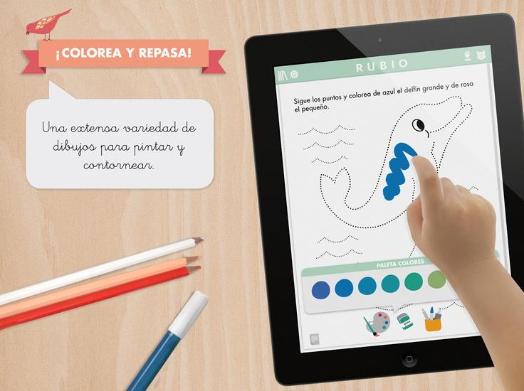 Disfruta de una extensa variedad de dibujos para colorear y contornear en nuestra #app #icuadernos para niños de todas las edaddes: http://itunes.apple.com/es/app/icuadernos-by-rubio/id527604623?mt=8