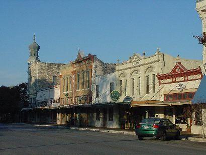 Georgetown Texas, Historic Georgetown, Williamson County seat; Georgetown Hotels.