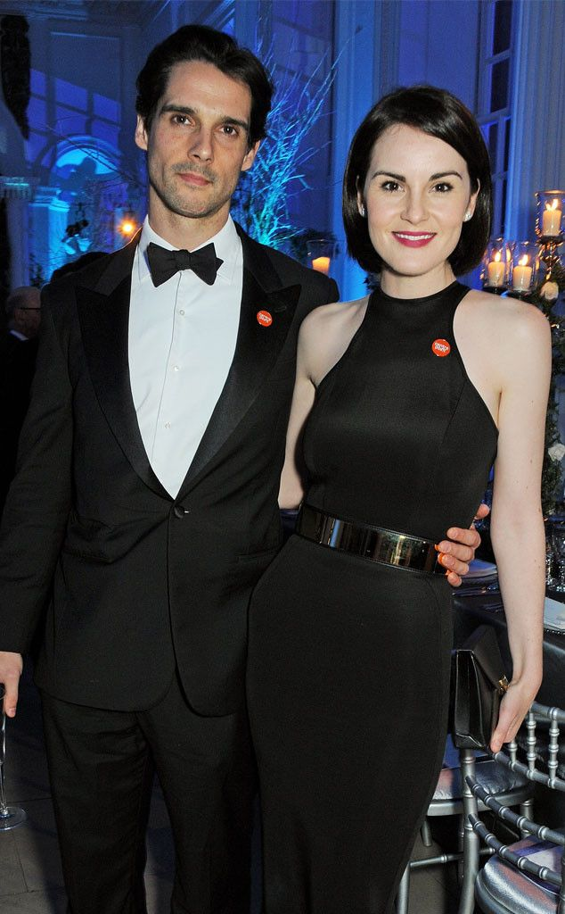 "Michelle Dockery Mourns Fiancé John Dineen, Sings at His Funeral: ""He Was My Friend, My King, My Hero""  John Dineen, Michelle Dockery"