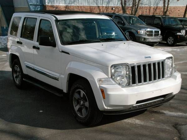 2008 Jeep Liberty- Sport 4WD- Silver- 88K Mile-