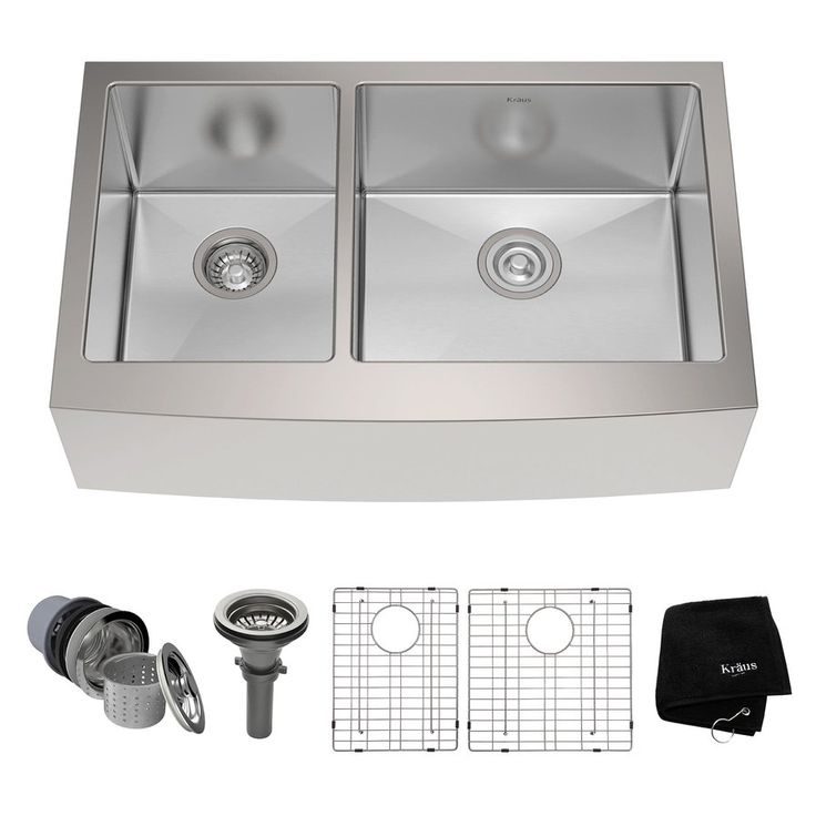 stainless steel farmhouse kitchen sink reviews