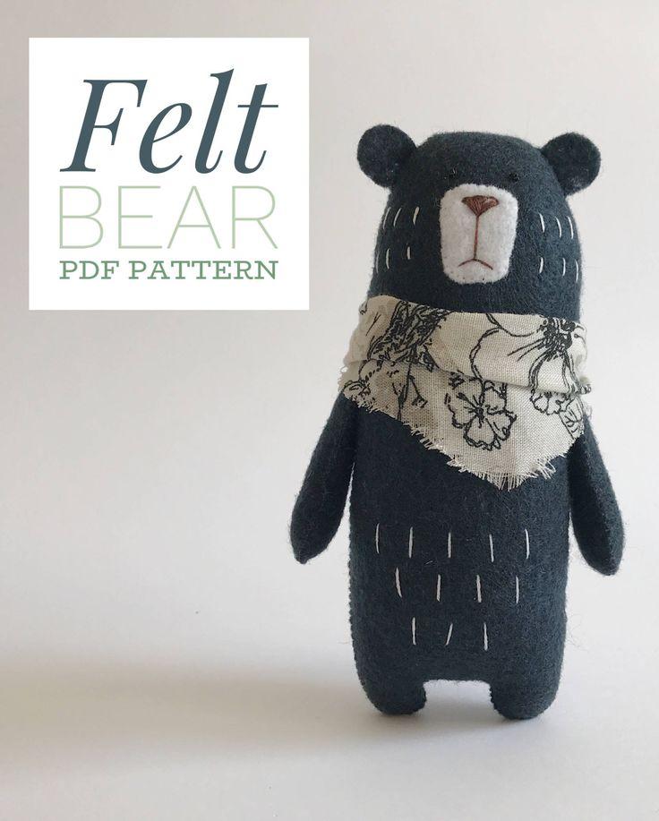 Mejores 122 imágenes de Osos - Bears en Pinterest | Muñecos de ...