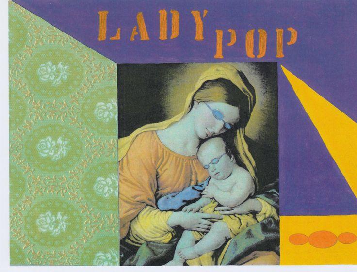 Lady pop collage