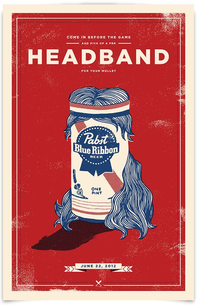 Pabst Blue Ribbon - Camilo - Design & Illustration