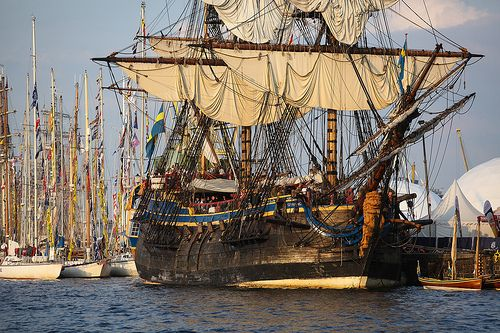 Tall Ships Races 2013, Szczecin, Poland by Mariusz Cieszewski, via Flickr