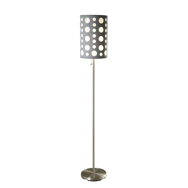 Featuring a contemporary style, the ORE Retro Floor Lamp has clean cuts and immaculate design that accentuates its look. Made from high-quality stainless steel, this floor lamp has a sturdy and durable body, which is designed to stand the test of time. It has a lovely chrome finish, which not only looks gorgeous, but also blends with most type of interiors. The Retro Floor Lamp from ORE has two drum-shaped shades, which are made with a combination of steel and fabric, and available in a…