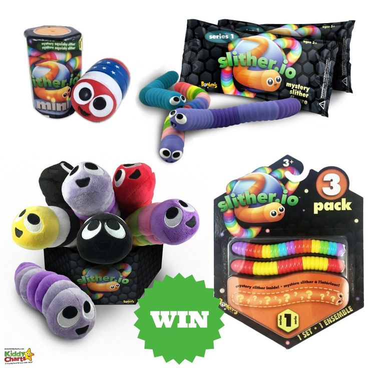 We have a fantastic set of gifts for all those Slither.io fans out there. My son just LOVES this game, and sometimes it is hard to peelhim away from his little snakes… We have some of the wonderful new Slither.io toys to give away. These promise to be an instant hit with fans, as they …