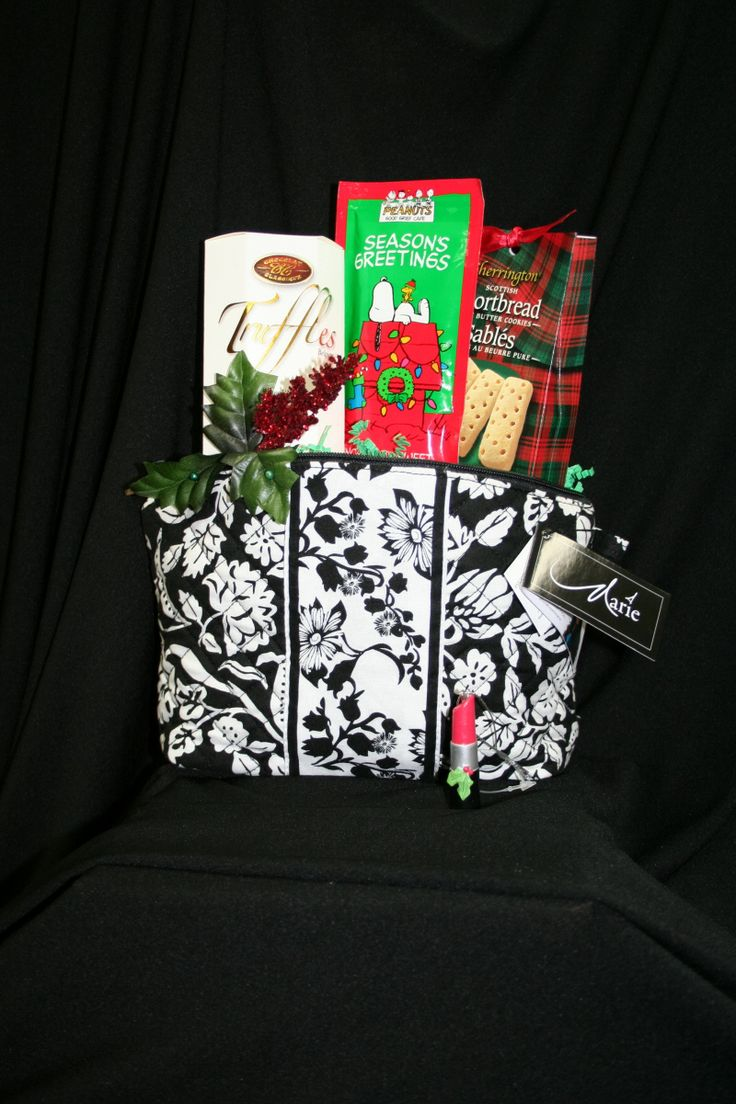 Cosmetic bag made into a basket. Lots of other choices to choose from too! Purses?