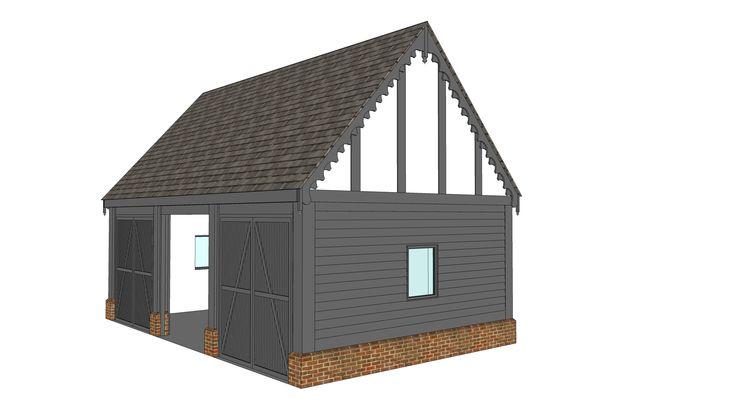 Garage proposal B - Ketteringham, Norfolk -  Image ll