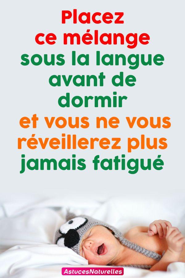 Placez ce mélange sous la langue avant de dormir et vous ne vous réveillerez plus jamais fatigué