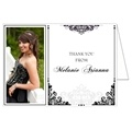 Filigree Delight Photo Thank You Card