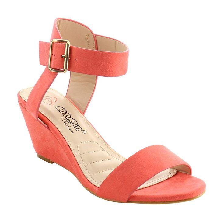 Womens Wedge Dress Shoe Elias-01 Nude