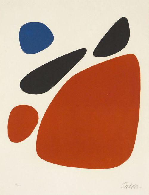 eytys:  Alexander Calder, Stones.                                                                                                                                                                                 Mehr