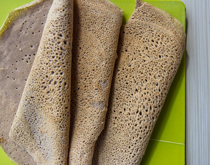 "Traditional Buckwheat Flour savory crepes that are made throughout France for ""Chandeleur"" (Pancake Day) every year in February, are easy to make at home!"