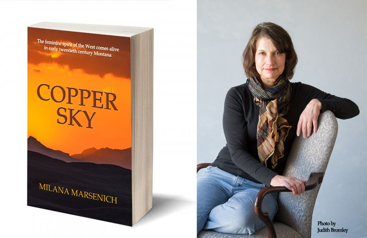Interview With Milana Marsenich, Author Of Copper Sky