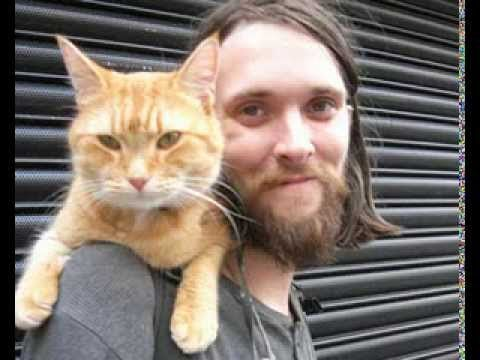 "▶ ""A Street Cat Named Bob"" The Big Issue cat - iPhone 4s 1080p - YouTube"