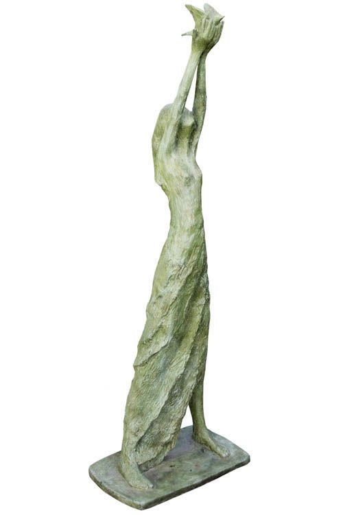 An original #sculpture by #TheoMegaw entitled #Freedom #bronze #southafricanartist  For more please visit www.finearts.co.za