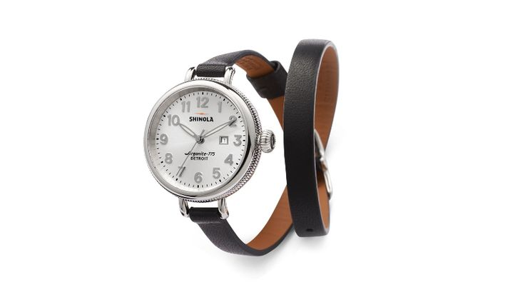 Watches - The Birday 34 mm Black | Get paid up to 12.5% Cashback when you shop at Shinola with your DubLi membership. Not a member? Sign up for FREE at www.downrightdealz.net