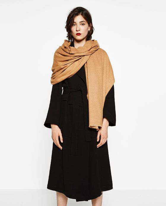 Image 1 of SUPER SOFT PLAIN SCARF from Zara | Europe ...