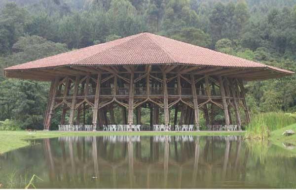 entrepiso de bamboo