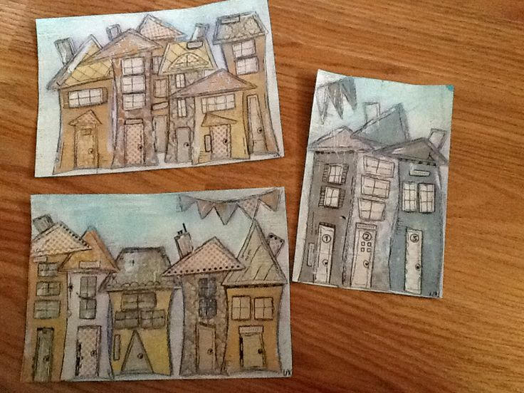 Card size houses