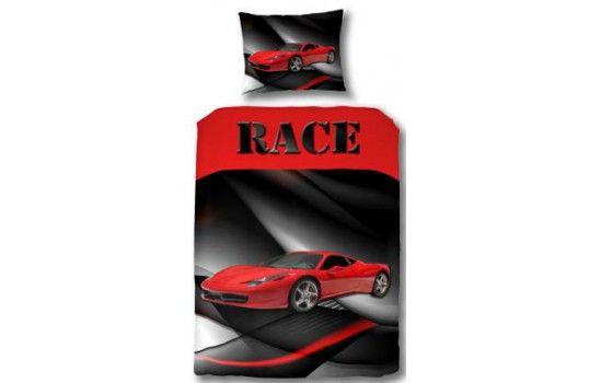 Les 25 meilleures id es de la cat gorie chambre voiture de - Housse de couette voiture de course ...