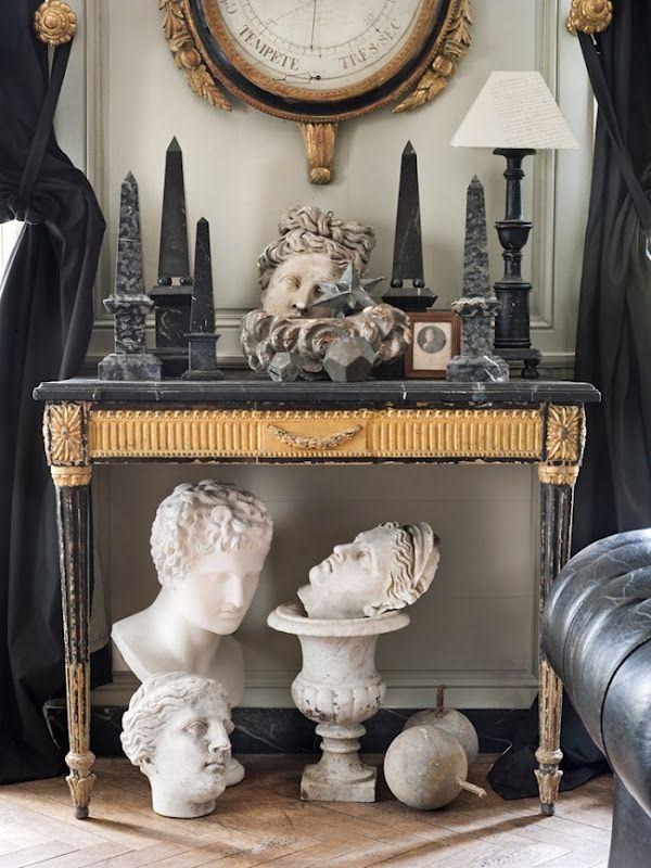 Neoclassical Vignette: Interiors Design Offices, Design Interiors, Hotels Interiors, Belgian Pearls, Home Design, Black Gold, Belgian Interiors, Vignette, Design Home