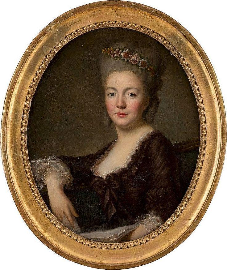 ALEXANDER ROSLIN 1718 Malmö - 1793 Paris (attr.) Portrait ei