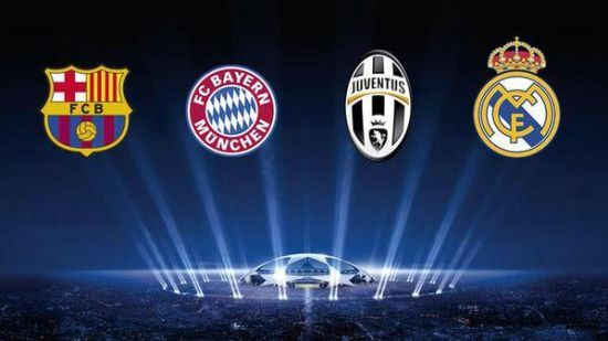 Champion League 2015 semi-final draw: juventus vs real madrid barcelona vs bayern munich