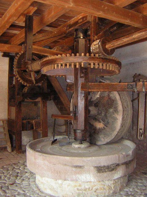 Mittelbergheim, molino de aceite