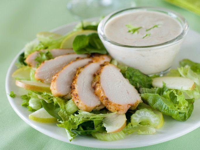 insalata di pollo sedano noci