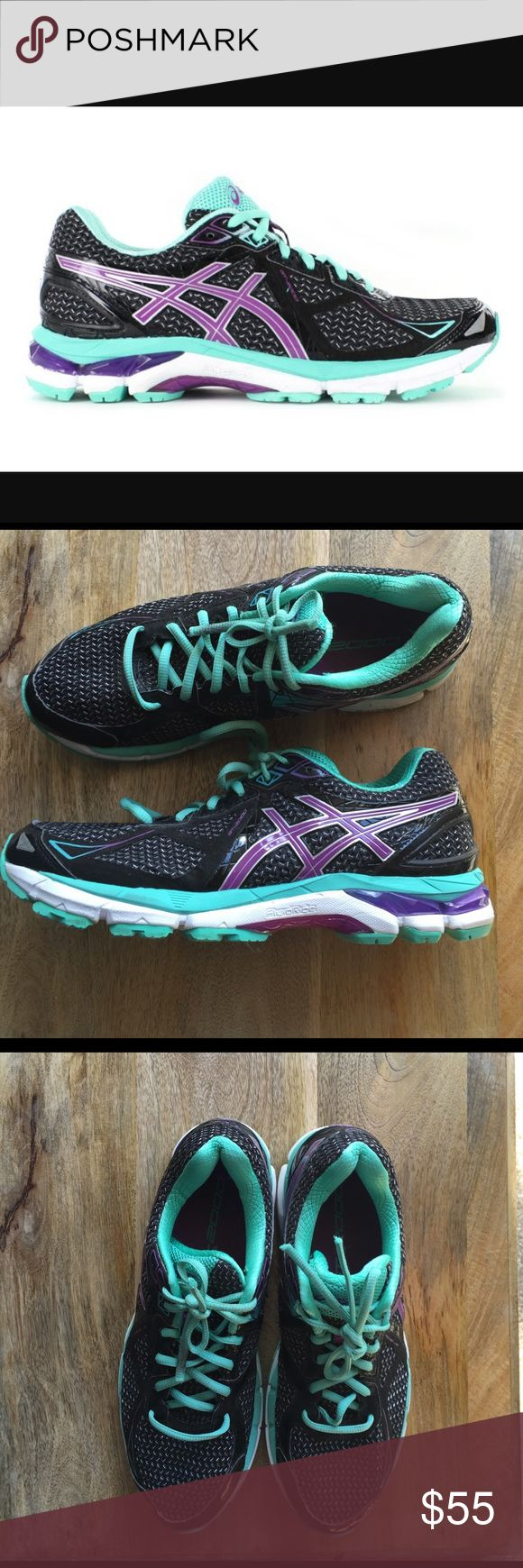 asics GT 2000 # 3 Asics GT 2000 # 3 runing shoes the laces are damaged after that excellent condition Like new 🌴🌼☀️ Asics Shoes Athletic Shoes
