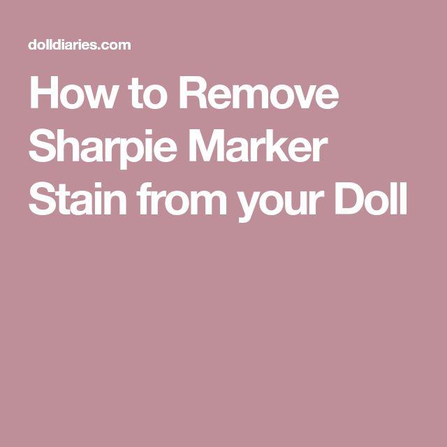 25 Unique Sharpie Removal Ideas On Pinterest Removing