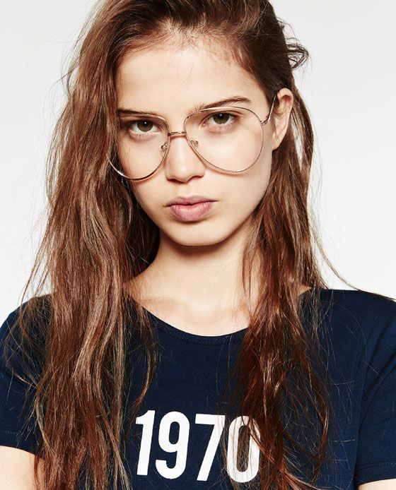 Image 4 of RETRO AVIATOR GLASSES from Zara