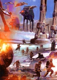 Battle on Hoth, aka The opening scene to Empire!