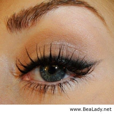 Natural cat eye for everyday wear