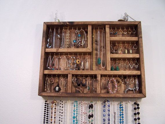 Jewelry Organizer, Jewelry Display Case