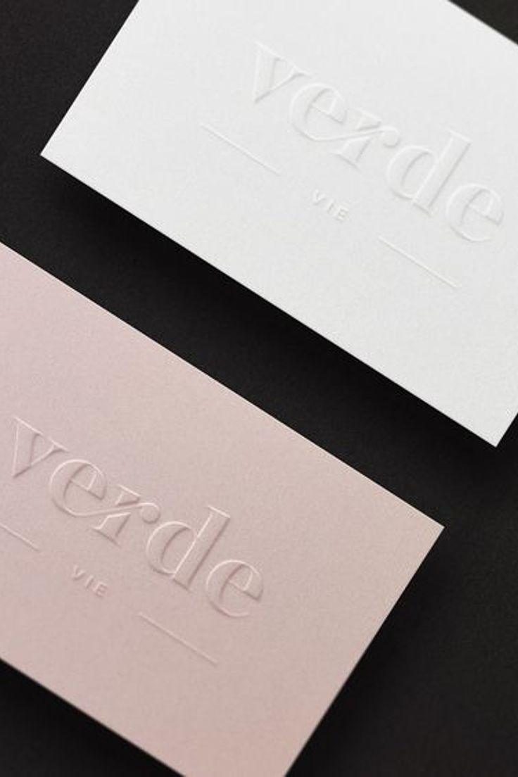 Logo Design For Verde Vie Www Verdevie Co Thisiskromad Kromad Brand Decoration Ho Embossed Business Cards Name Card Design Business Cards Creative