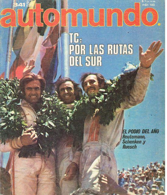 Automundo Magazine (1971) - Carlos Reutemann.
