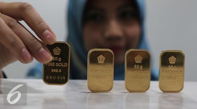 PT. Rifan Financindo Berjangka, Jakarta - Harga emas PT Aneka Tambang Tbk…