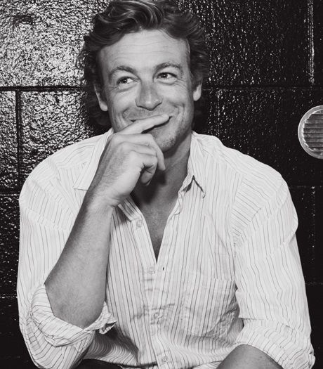 "Simon Baker"" I not saying it"""