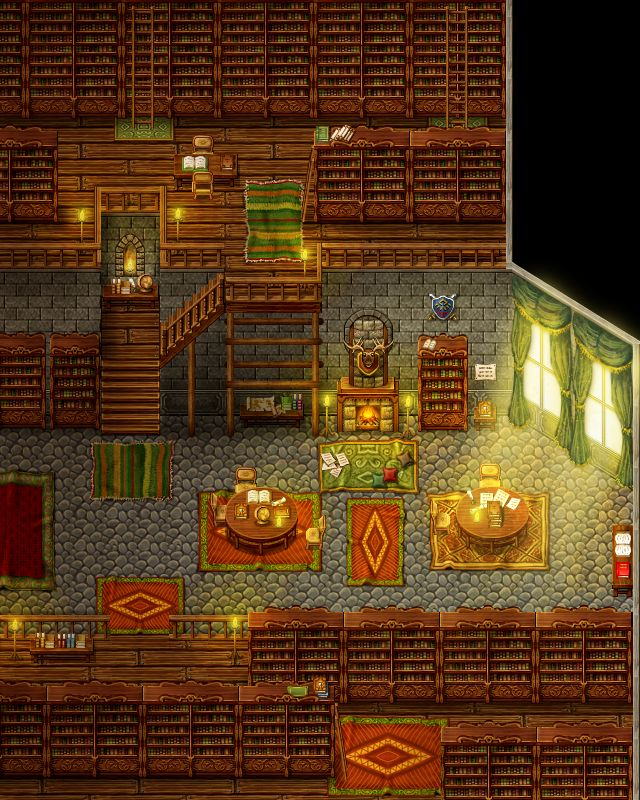 Dragonboy: Library by PinkFireFly on DeviantArt
