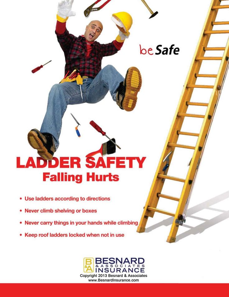 45 best ladder safety images on pinterest painting tools for Ladder safety tips