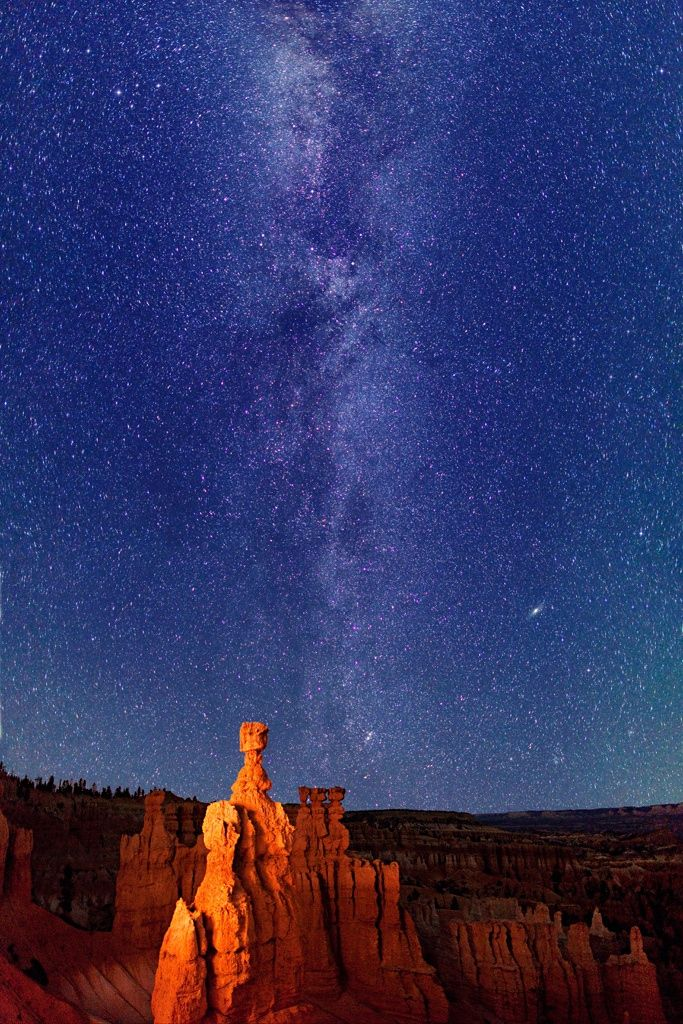 Milky Way stars - Bryce Canyon by Royce's NightScapes on 500px